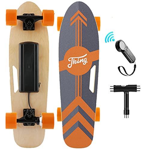 Nesaila 70cm(27') Elektro Skateboard mit Drahtloser Bluetooth...