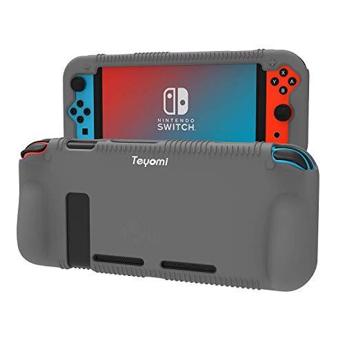 Teyomi Hülle Kompatibel mit Nintendo Switch, Schutzhülle aus Silikon...