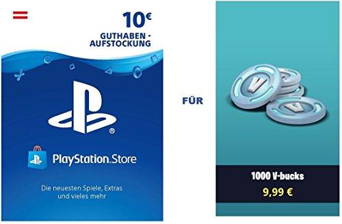 PSN Guthaben für Fortnite - 1.000 V-Bucks - 1.000 V-Bucks DLC   PS4...