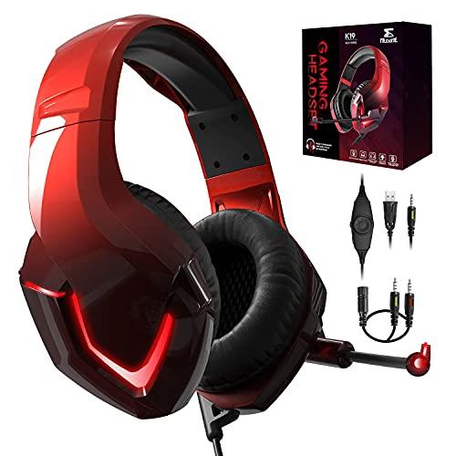 PS4 Kopfhörer mit Kabel und Mikrofon für PC Over Ear Kinder NEEDONE...