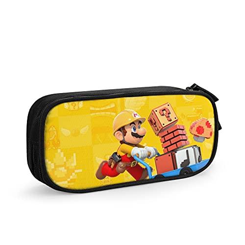 Super Mario Federmäppchen, großes Fassungsvermögen, Beutelhalter,...
