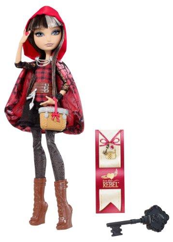 Mattel Ever After High BJG63 - Rebel Cerise Hood, Puppe
