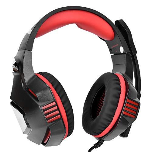 Sxhlseller Professionelles Over-Ear-Headset - Gaming Over Ear Kopfhörer mit Geräuschisolierung Mikrofon -...
