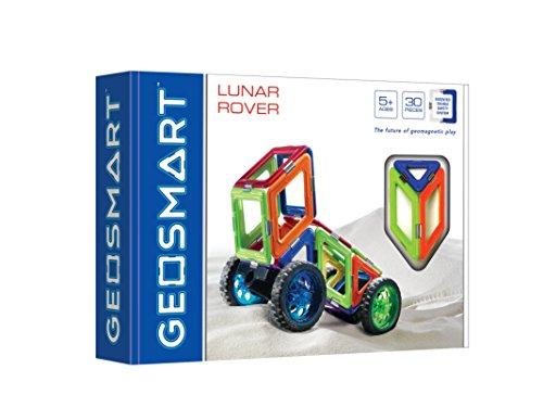 GeoSmart Geo 211 Fahrzeug Mond – 30-teilig Mischhaut mit Rollen, Multicolour