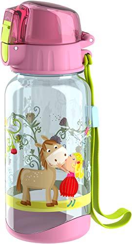 HABA 304485 - Trinkflasche Vicki & Pirli, 400ml Kinder-Trinkflasche...