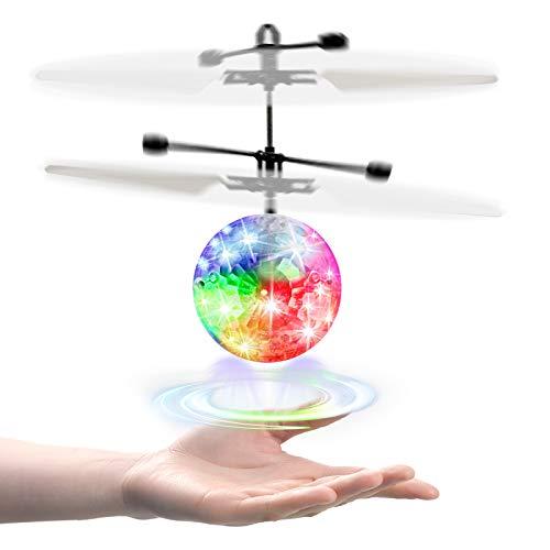 UTTORA RC Fliegender Ball Kinder Spielzeug,Schuzbrille...