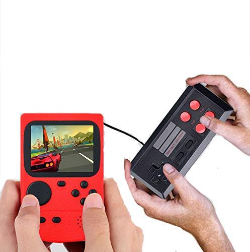 KKING Klassische Mini-Handheld-Spielekonsole Retro Kindheitsspielkonsole Hunderte Von Kostenlosen Spielen...