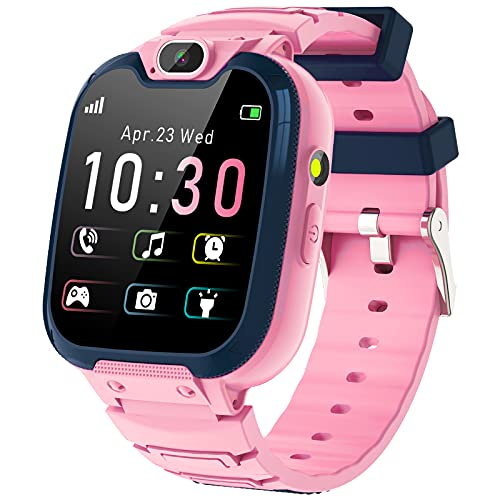 Kinder SmartWatch - MP3 Musik 14 Spiele Kids Smart...