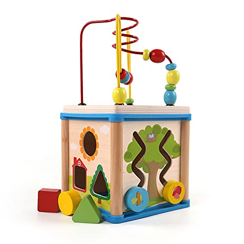 HAOXIU Holzspielzeug Baby, Inklusive...