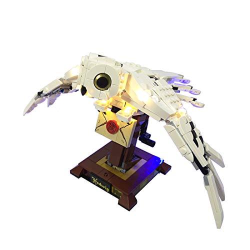 LYCH LED Beleuchtungsset für LEGO Harry Potter Hedwig mit beweglichen...