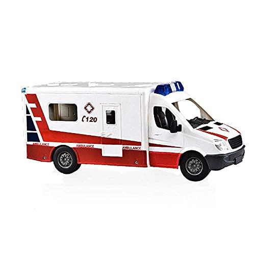 YGB RC Krankenwagen RC Auto Modell Fernbedienung Hoher Krankenwagen...