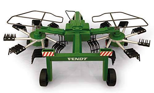 Jamara 412589 - Fendt Former für RC Fendt Traktor 405035 - rotierende Zinken während des Fahrbetriebs,...