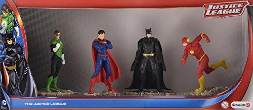 Schleich 22515 Justice League Set mit Batman, Superman, Green Lantern...