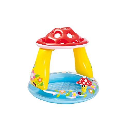 VEDES Großhandel GmbH - Ware 77703390 Baby Pool Pilz, Durchmesser 102 x 89 cm, bunt