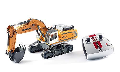 siku 6740, Liebherr R980 SME Raupenbagger, Ferngesteuert, 1:32, Inkl. Funkfernsteuerung, Metall/Kunststoff,...