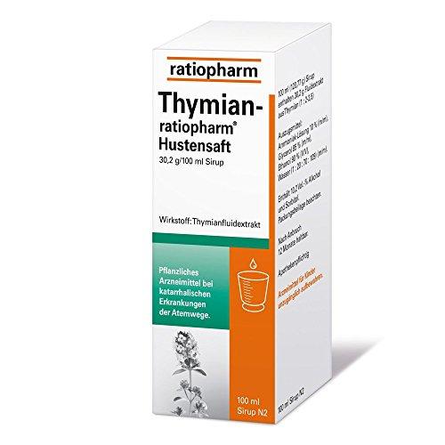 Thymian-ratiopharm Hustensaft, 100 ml Lösung