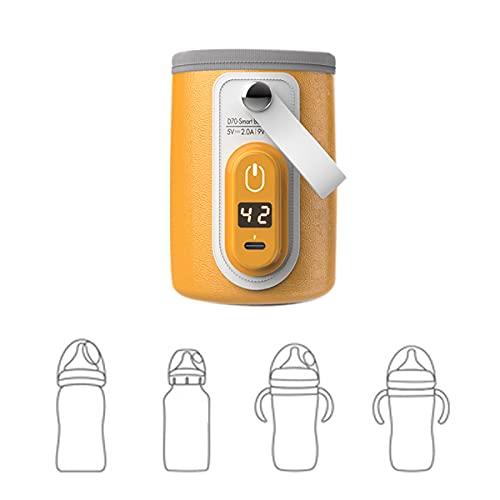 Flaschenwärmer Baby Unterwegs Auto USB - Milchflasche Heizung,Baby...