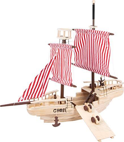 Small Foot 1920 Piratenschiff aus Massivholz, aufwendig gearbeitetes...