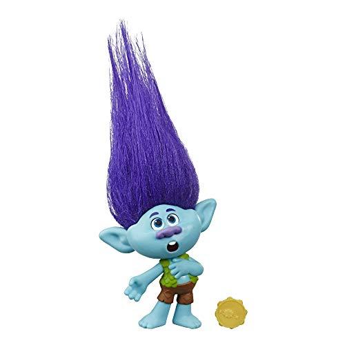 Trolls DreamWorks World Tour Branch, Puppe mit Tambourin, Spielzeug...