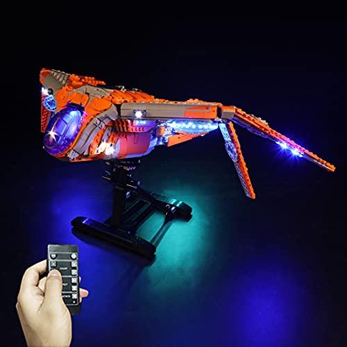 Sugeren LED Licht Set Kompatibel mit Lego Marvel The Guardians Ship,...