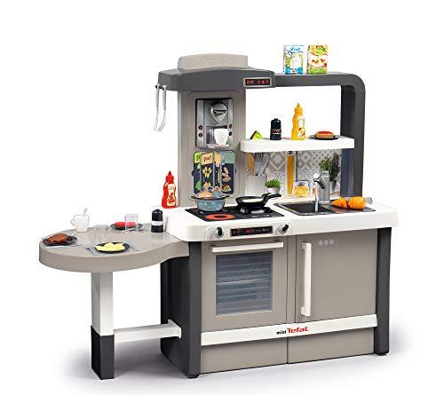Smoby 312300 Tefal Evo Küche mitwachsende Kinderküche mit Spüle,...