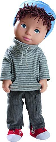 HABA 305584 305584-Spielpuppe Matti, Puppe mit weichem Körper,...