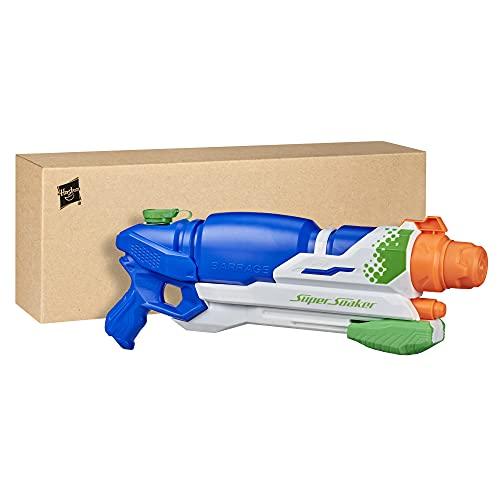 SuperSoaker Barrage, Wasserpistole mit drei Modi, für Kinder ab 8...