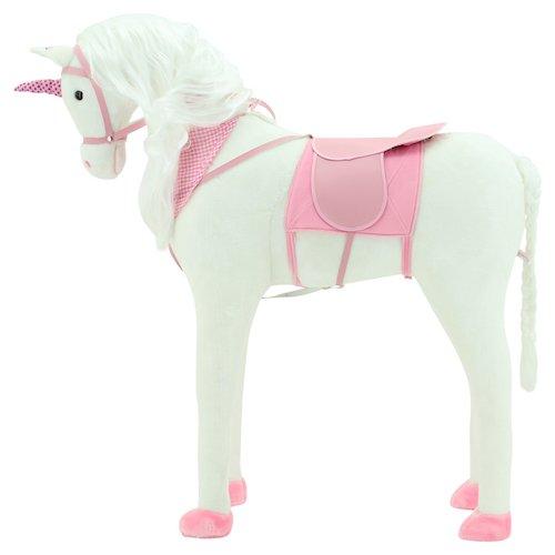 Sweety Toys 10004 EINHORN Plüsch Pferd XXL Riesen GIANT Stehpferd