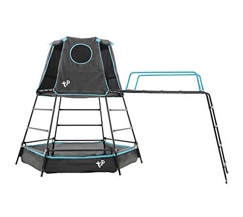 TP Toys Klettergerüst Explorer 306x208x201 cm schwarz Spielturm...