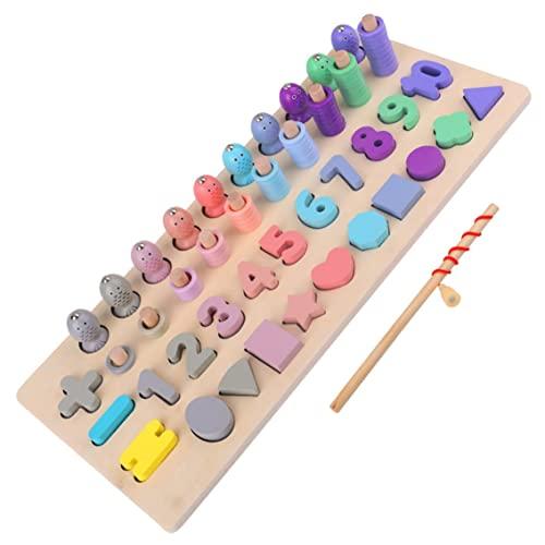 Zahlen und Formen Sortierspiel Vier-in-eins-Lernspiele Spaß...