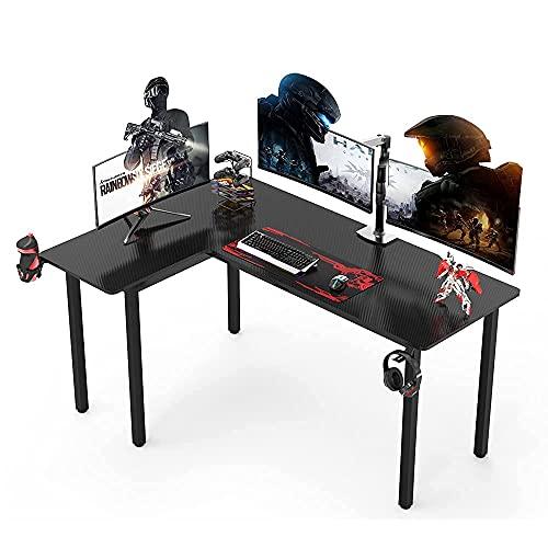 Dripex Gaming Tisch Schreibtisch 155x110cm Gaming Ergonomic...