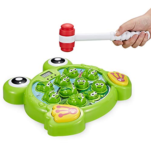 Think Gizmos Interaktiver Schlag den Frosch TG702 - lustiges Spielzeug...