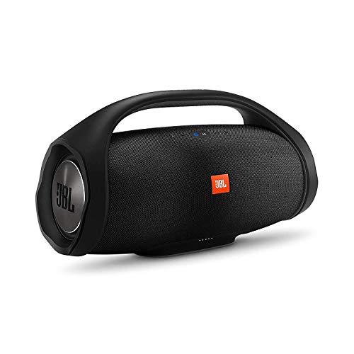 JBL Boombox in Schwarz – Wasserdichter Bluetooth-Lautsprecher mit...