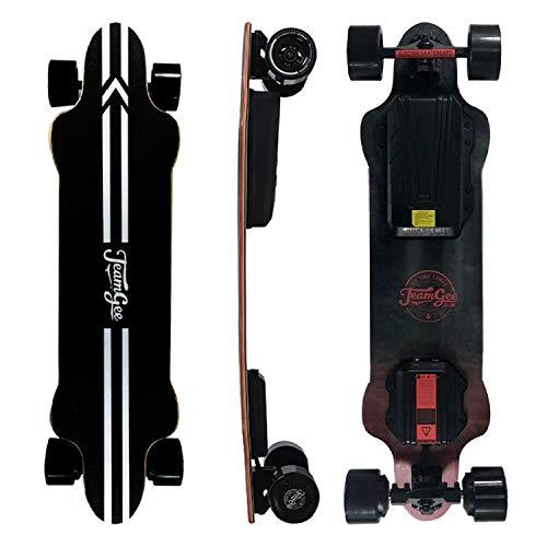 Teamgee H20 Elektro-Skateboard mit kabelloser Fernbedienung, Longboard-Skateboards für Jugendliche und...
