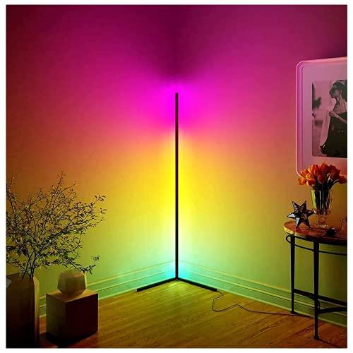 LED Stehlampe mit Fernbedienung, 20W Dimmbare Stehlampe für Modernes...