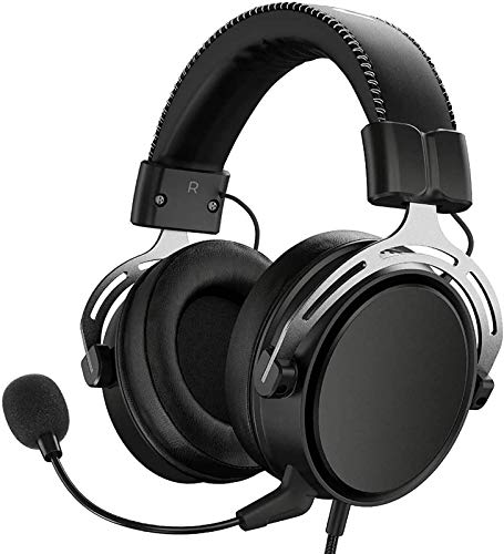 CRFYJ PS4 Headset Xbox EIN, Air SE Gaming Headset mit Mikrofon, Over-Ear Gaming-Kopfhörer mit...
