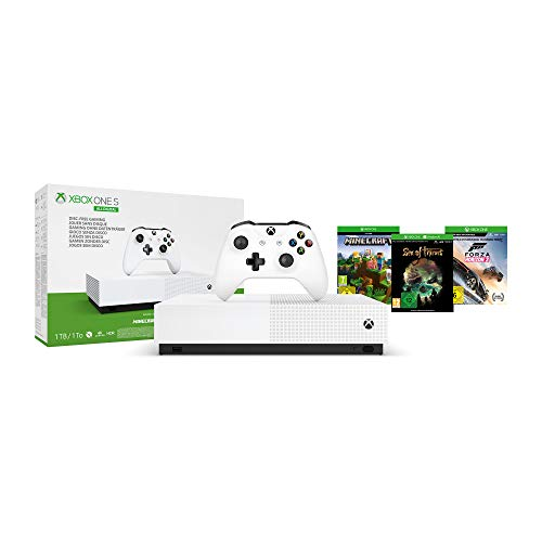 Microsoft Xbox One S 1TB - All Digital Edition [Konsole ohne optisches Laufwerk]