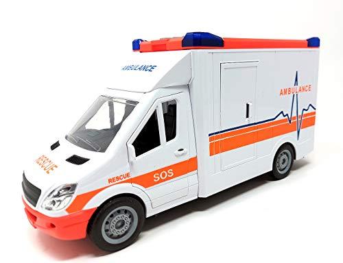 Krankenwagen Fahrzeug, Rettungswagen Auto Spielzeug, Spielzeugauto mit...