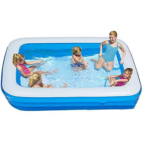 FFTUB Aufblasbarer Swimmingpool Extra Große Aufblasbare Pools Für...