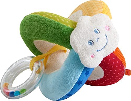 HABA - Stoffball Welt Regenbogen Iris Spielzeug für Babys,...