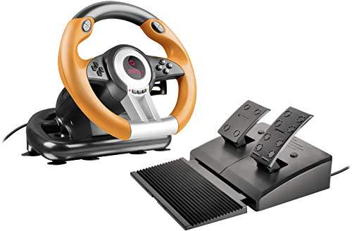 Speedlink DRIFT O.Z. Racing Wheel - USB-Gaming-Lenkrad für...