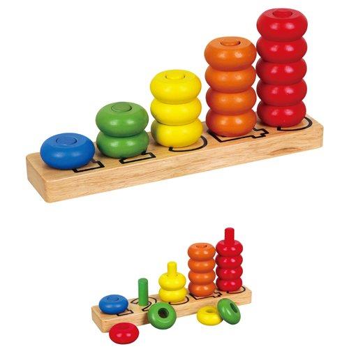 Viga Toys - Formensortierspiel - Lerne zählen