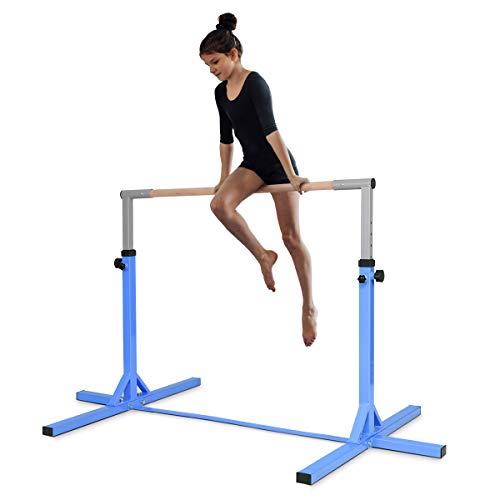 DREAMADE Kinder Gymnastik Turnreck, Reckstange 12-stufige...