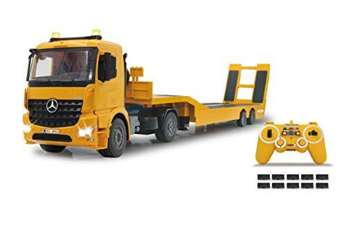 JAMARA 405107 - Tieflader Mercedes Arocs 1:20 2,4GHz - An- und...