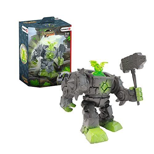 SCHLEICH 42547 Spielfigur - Eldrador Mini Creatures Stein-Roboter...