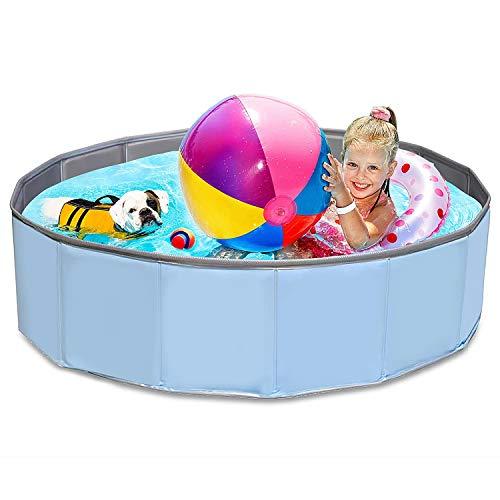 Hundepool mit Ablassventil,Badewanne Swimmingpool...