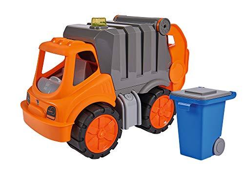 BIG - Power-Worker Müllwagen - Spielzeug Auto ideal für Unterwegs,...
