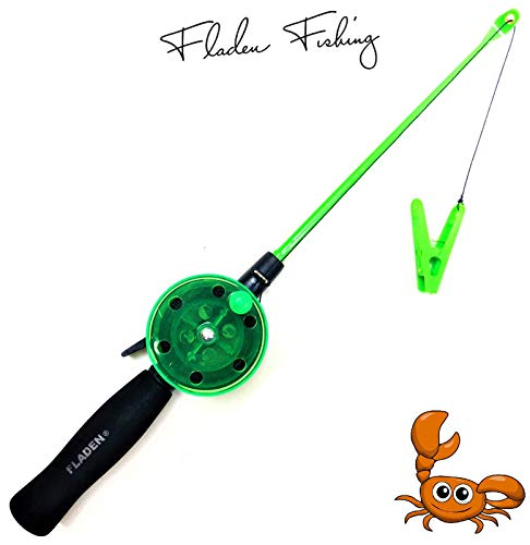 Fladen My-Fishing-World Kinderangel Krebsangel 40cm Kinder Strand & Urlaub Angel Krebs &...