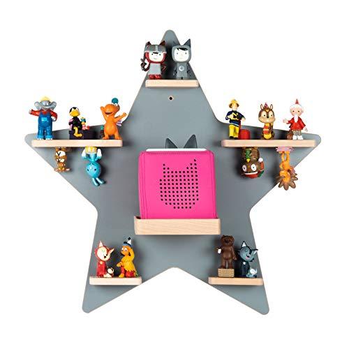 BOARTI das Original Kinder Regal Stern in Grau - für...