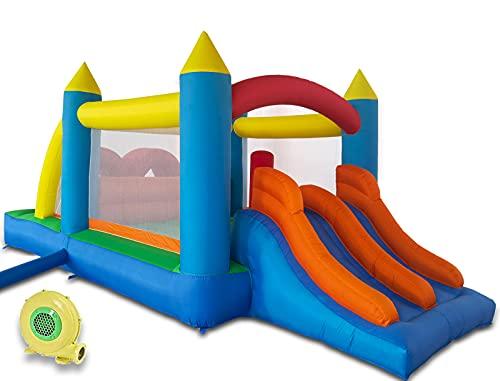 Ballsea Hüpfburg (Aktualisierte Version) Aufblasbares Spielhaus mit...